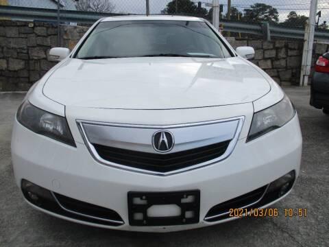 2012 Acura TL for sale at Atlantic Motors in Chamblee GA