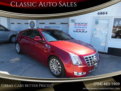 2013 Cadillac CTS for sale at Classic Auto Sales in Maiden NC