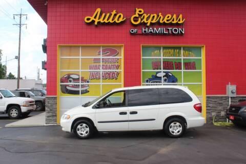 2003 Dodge Grand Caravan for sale at AUTO EXPRESS OF HAMILTON LLC in Hamilton OH