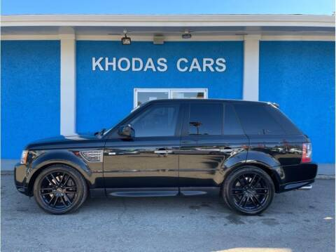2010 Land Rover Range Rover Sport for sale at Khodas Cars in Gilroy CA