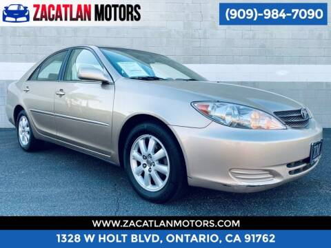 2002 Toyota Camry for sale at Ontario Auto Square in Ontario CA