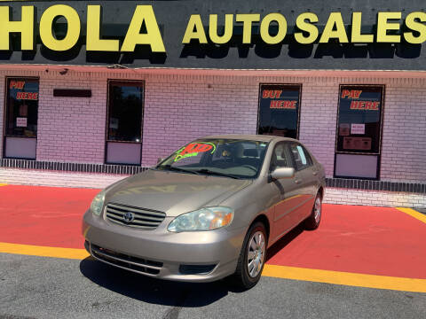 2004 Toyota Corolla for sale at HOLA AUTO SALES CHAMBLEE- BUY HERE PAY HERE - in Atlanta GA