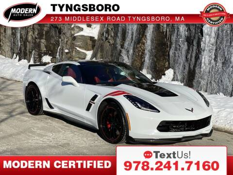 2017 Chevrolet Corvette for sale at Modern Auto Sales in Tyngsboro MA