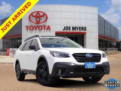 2020 Subaru Outback for sale at Joe Myers Toyota PreOwned in Houston TX