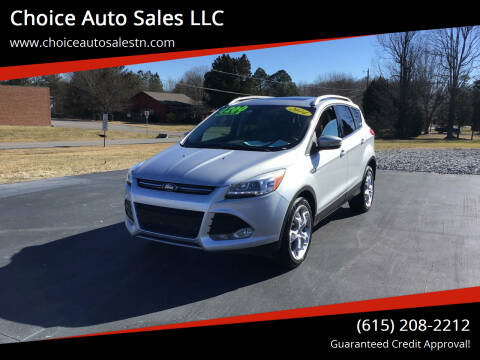 2014 Ford Escape for sale at Choice Auto Sales LLC - Cash Inventory in White House TN