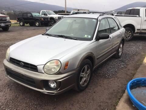 2002 Subaru Impreza for sale at Troys Auto Sales in Dornsife PA