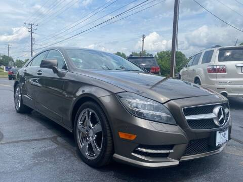 2012 Mercedes-Benz CLS for sale at Viewmont Auto Sales in Hickory NC