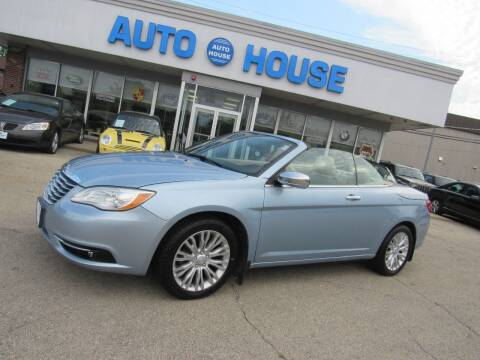 2012 Chrysler 200 Convertible for sale at Auto House Motors in Downers Grove IL