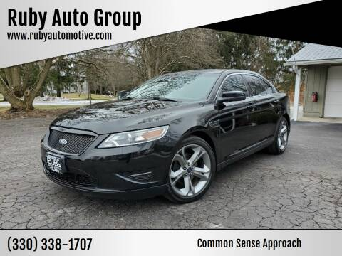 2012 Ford Taurus for sale at Ruby Auto Group in Hudson OH