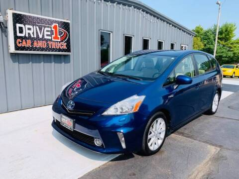 2014 Toyota Prius v for sale at Drive 1 Car & Truck in Springfield OH