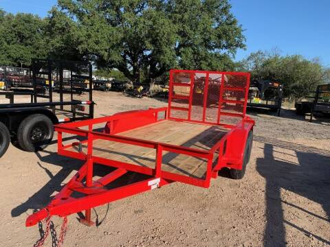 """2021 P & C  - UTILITY 77"""" X 12'- IN/ for sale at LJD Sales in Lampasas TX"""