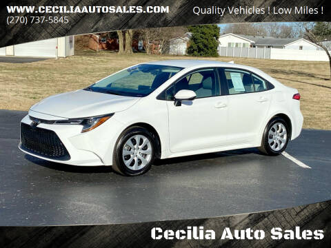 2020 Toyota Corolla for sale at Cecilia Auto Sales in Elizabethtown KY