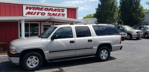 2006 Chevrolet Suburban for sale at WIREGRASS AUTO SALES in Dothan AL