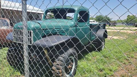 1950 Dodge Ram Wagon for sale at CLASSIC MOTOR SPORTS in Winters TX