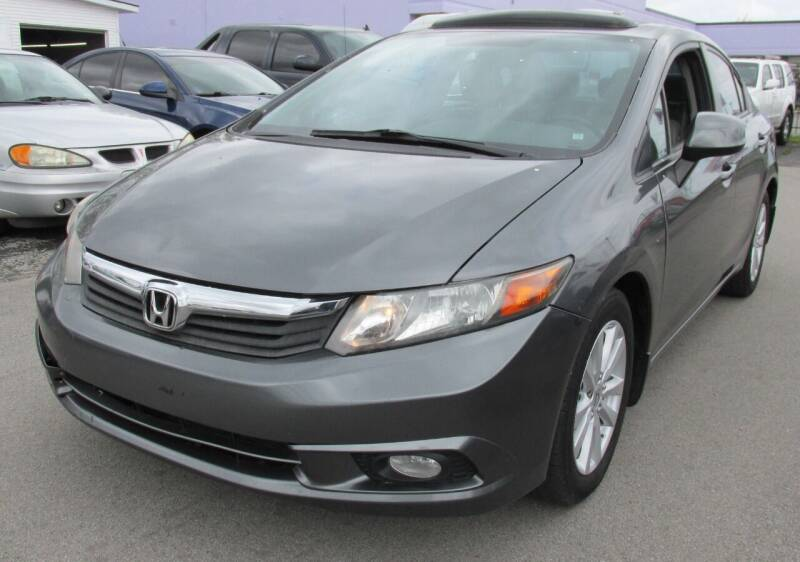 2012 Honda Civic for sale at Express Auto Sales in Lexington KY