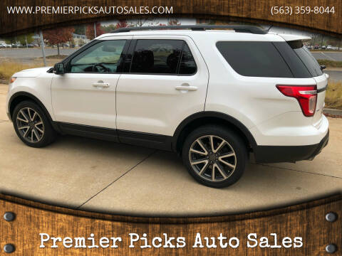 2015 Ford Explorer for sale at Premier Picks Auto Sales in Bettendorf IA