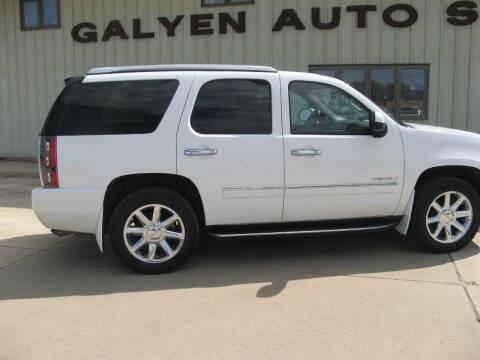 2011 GMC Yukon for sale at Galyen Auto Sales in Atkinson NE