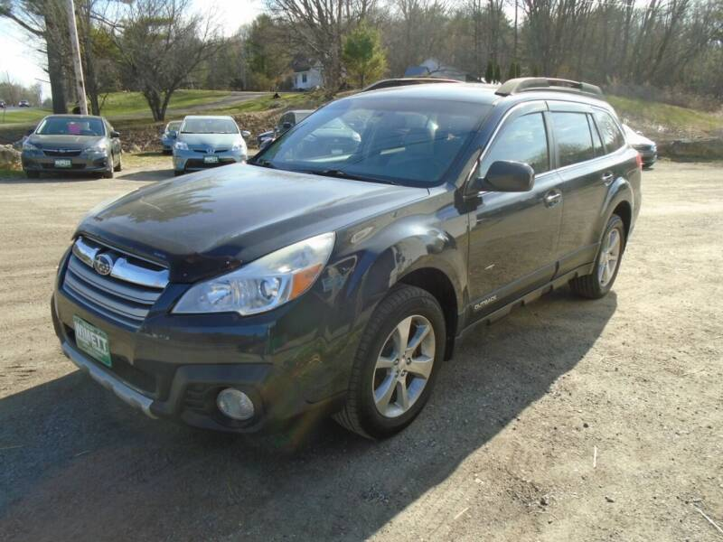 2013 Subaru Outback for sale at Wimett Trading Company in Leicester VT