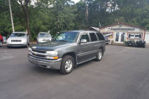 2001 Chevrolet Tahoe for sale at E-Motorworks in Roswell GA