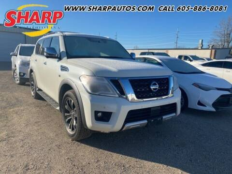 2018 Nissan Armada for sale at Sharp Automotive in Watertown SD