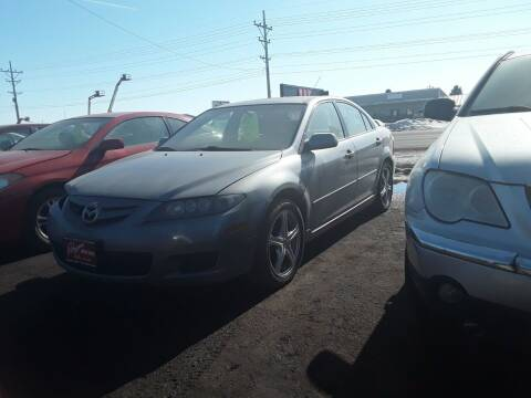 2008 Mazda MAZDA6 for sale at BARNES AUTO SALES in Mandan ND
