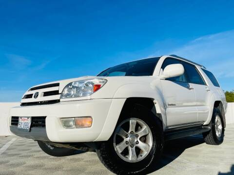 2003 Toyota 4Runner for sale at Empire Auto Sales in San Jose CA