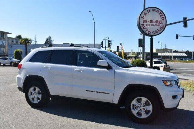 2017 Jeep Grand Cherokee for sale at San Mateo Auto Sales in San Mateo CA