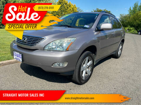 2005 Lexus RX 330 for sale at STRAIGHT MOTOR SALES INC in Paterson NJ