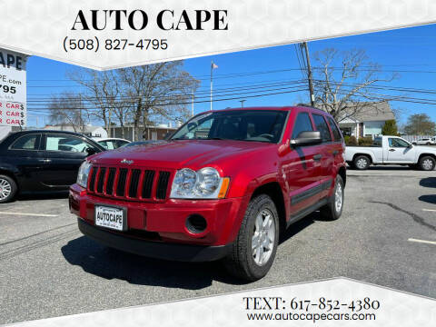 2005 Jeep Grand Cherokee for sale at Auto Cape in Hyannis MA