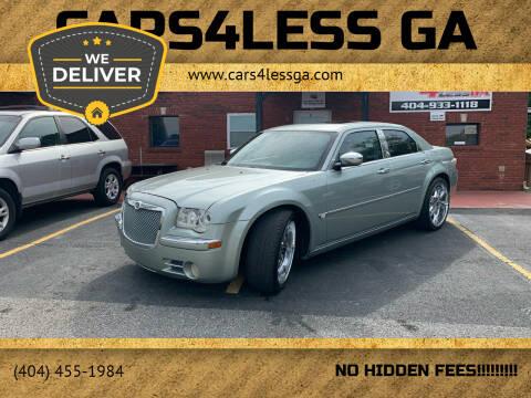 2006 Chrysler 300 for sale at Cars4Less GA in Alpharetta GA