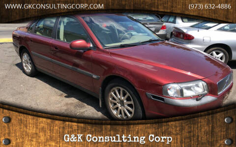 2000 Volvo S80 for sale at G&K Consulting Corp in Fair Lawn NJ