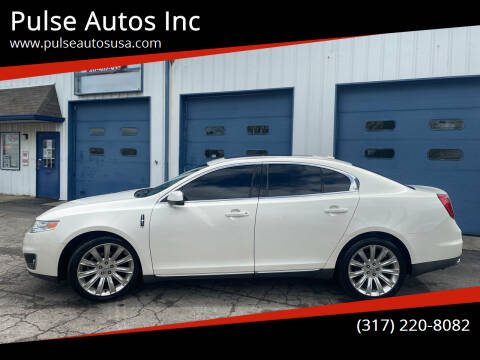 2009 Lincoln MKS for sale at Pulse Autos Inc in Indianapolis IN