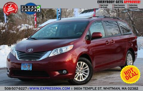 2011 Toyota Sienna for sale at Auto Sales Express in Whitman MA
