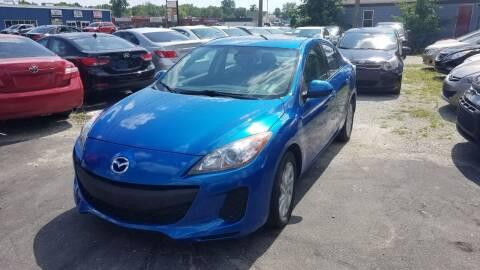 2012 Mazda MAZDA3 for sale at Nonstop Motors in Indianapolis IN