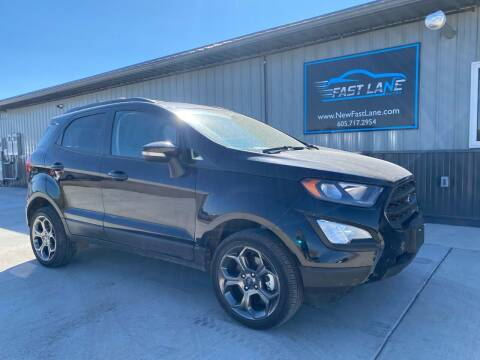 2018 Ford EcoSport for sale at FAST LANE AUTOS in Spearfish SD