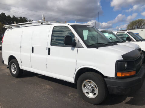 2008 Chevrolet Express Cargo for sale at CARGO VAN GO.COM in Shakopee MN