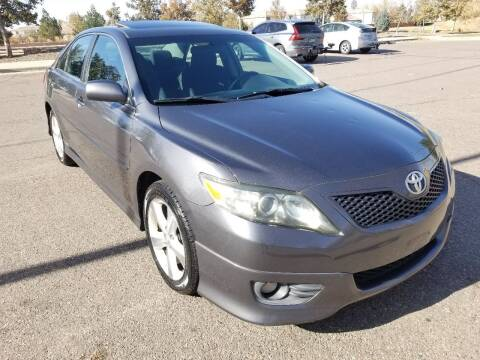 2011 Toyota Camry for sale at Red Rock's Autos in Denver CO