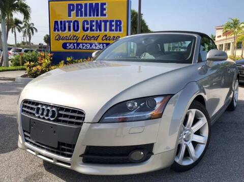 2008 Audi TT for sale at PRIME AUTO CENTER in Palm Springs FL