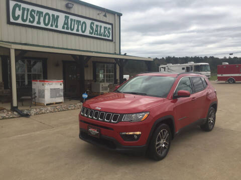 2019 Jeep Compass for sale at Custom Auto Sales - AUTOS in Longview TX