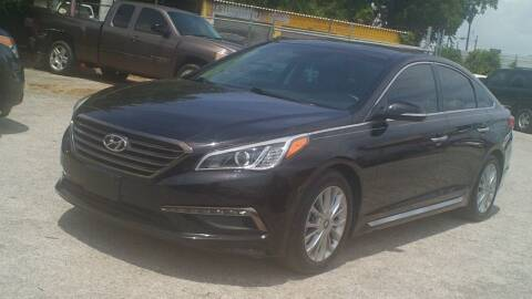 2015 Hyundai Sonata for sale at Global Vehicles,Inc in Irving TX