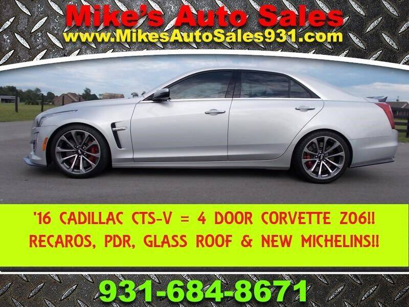 2016 Cadillac CTS-V for sale at Mike's Auto Sales in Shelbyville TN