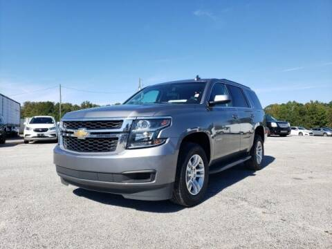 2018 Chevrolet Tahoe for sale at Hardy Auto Resales in Dallas GA