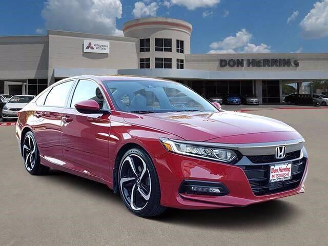2018 Honda Accord for sale at Don Herring Mitsubishi in Plano TX