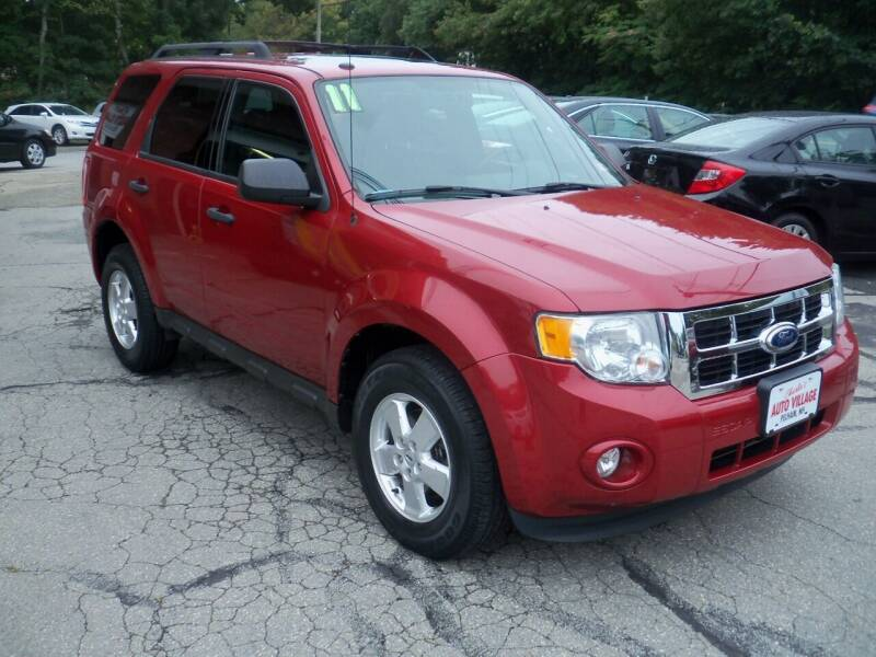 2011 Ford Escape for sale at Charlies Auto Village in Pelham NH
