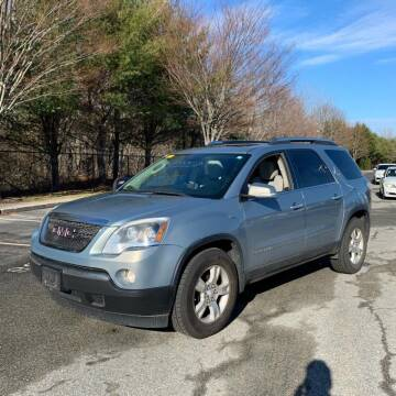 2008 GMC Acadia for sale at MBM Auto Sales and Service in East Sandwich MA