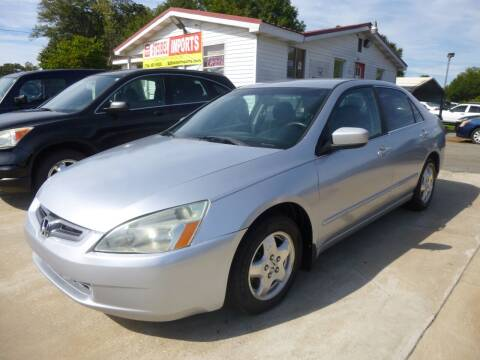 2005 Honda Accord for sale at Ed Steibel Imports in Shelby NC