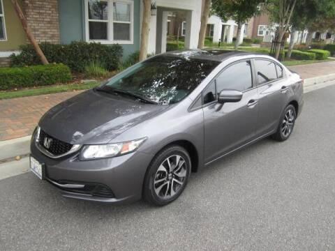 2015 Honda Civic for sale at PREFERRED MOTOR CARS in Covina CA