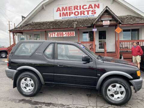1999 Isuzu Amigo for sale at American Imports INC in Indianapolis IN