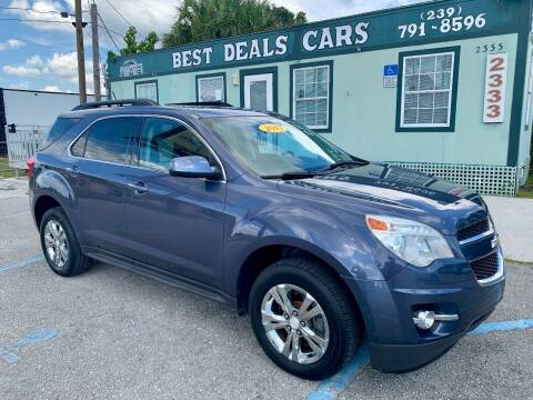 2013 Chevrolet Equinox for sale at Best Deals Cars Inc in Fort Myers FL