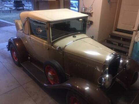 1930 Ford Cabriolet  for sale at Classic Car Deals in Cadillac MI